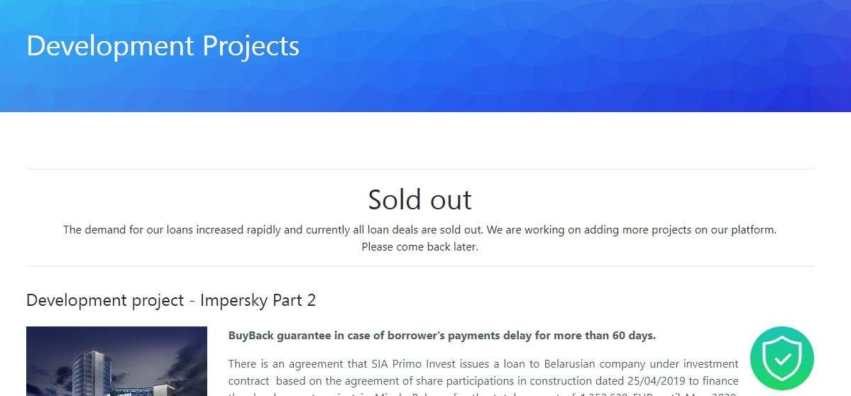 grupeer sold out